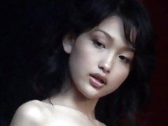 Japon kız berbat sonra tamamlanması handjob vermek...